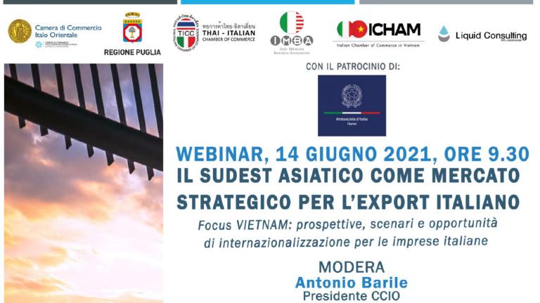 Il Sudest asiatico come mercato strategico per l'export italiano